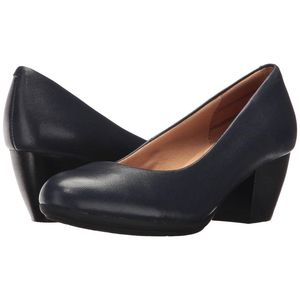 コンフォーティヴァ Comfortiva レディース ヒール シューズ・靴【Amora】Peacoat Navy River Leather