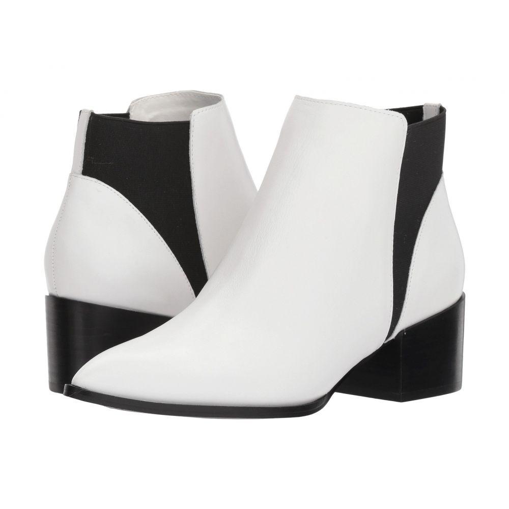 チャイニーズランドリー Chinese Laundry レディース ブーツ シューズ・靴【Finn Bootie】White Smooth Leather