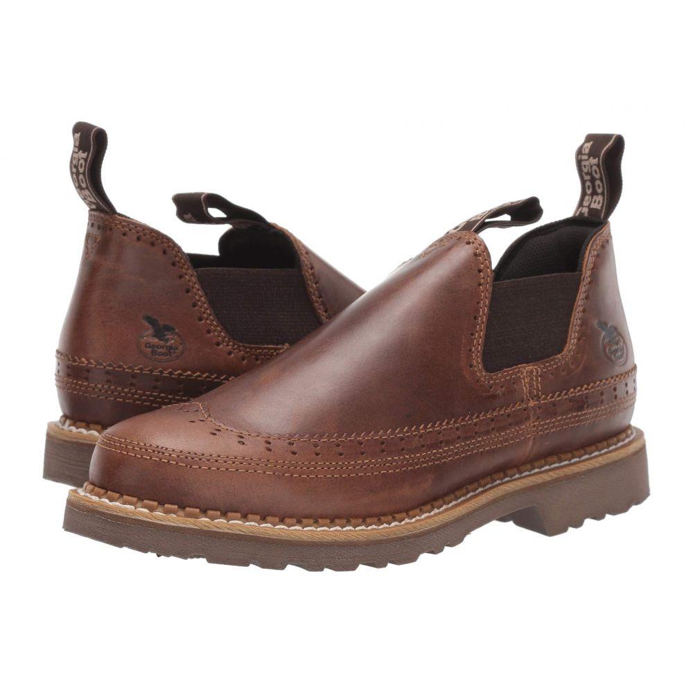 ジョージアブーツ Georgia Boot レディース ブーツ シューズ・靴【Romeo】Brown Saddle