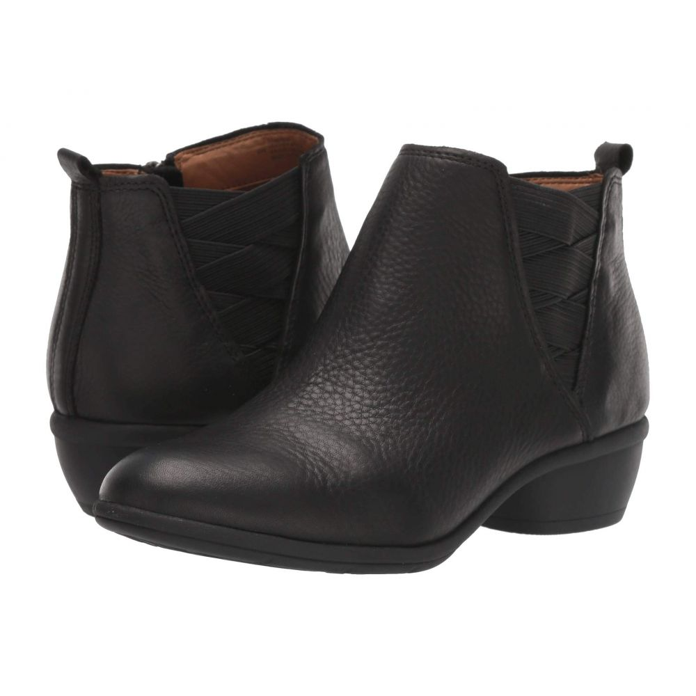 コンフォーティヴァ Comfortiva レディース ブーツ シューズ・靴【Questa】Black Cascade Soft