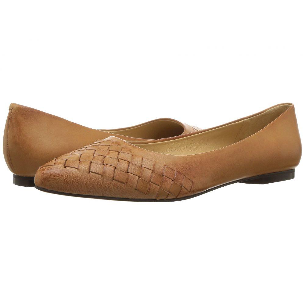 トロッターズ Trotters レディース スリッポン・フラット シューズ・靴【Estee Woven】Tan Woven Leather