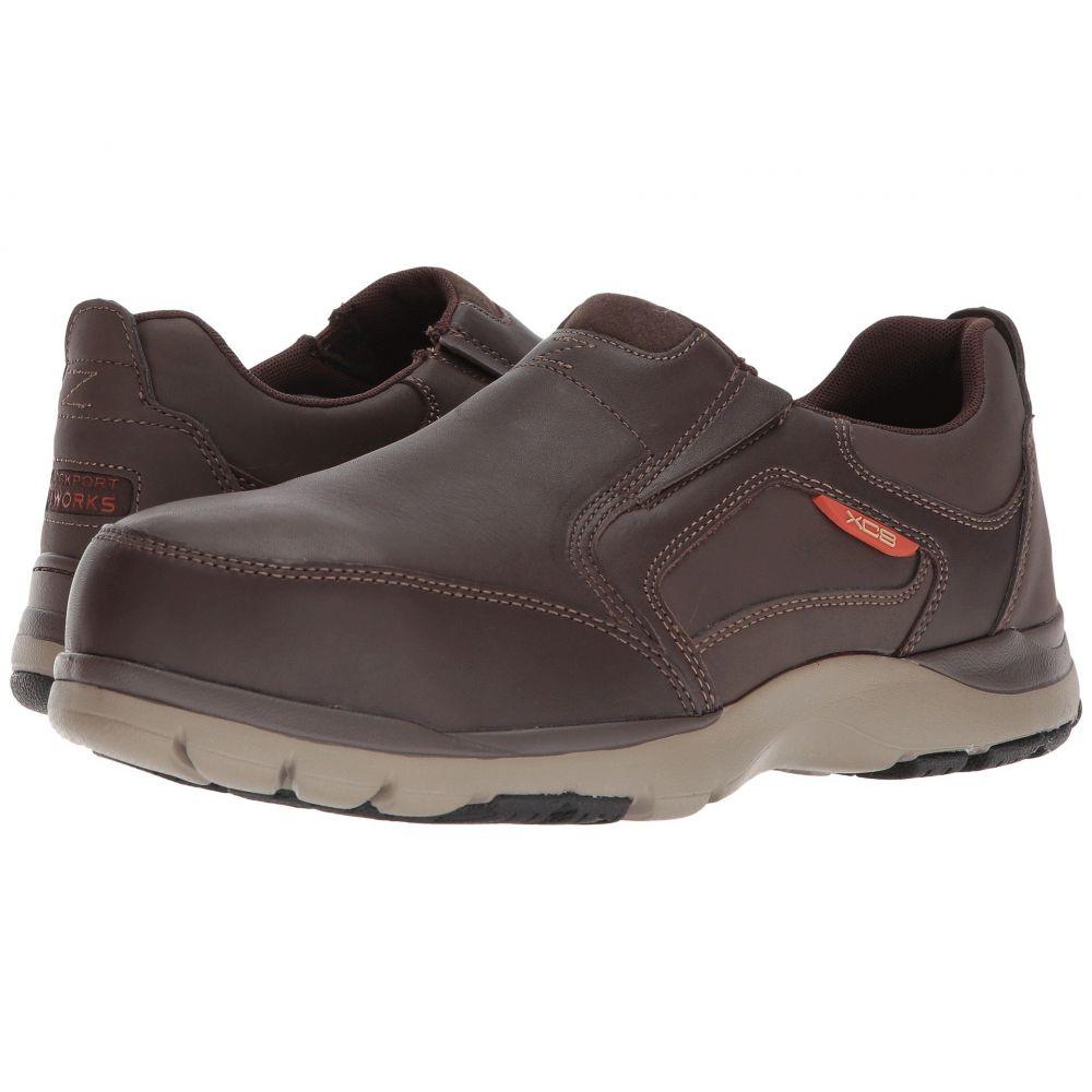 ロックポート Rockport Works メンズ シューズ・靴 【Kingstin Work】Dark Brown