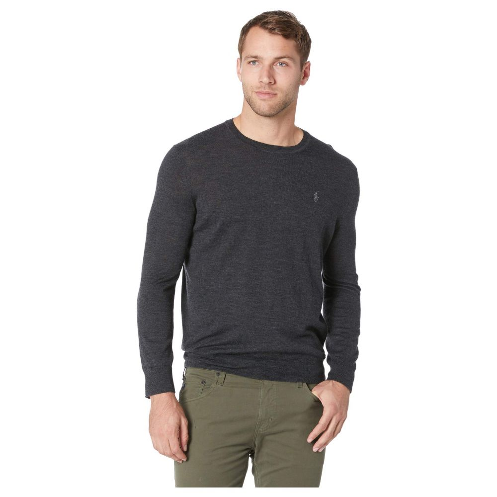 ラルフ ローレン Polo Ralph Lauren メンズ ニット・セーター トップス【Washable Merino Crew Neck Sweater】Dark Granite Heather