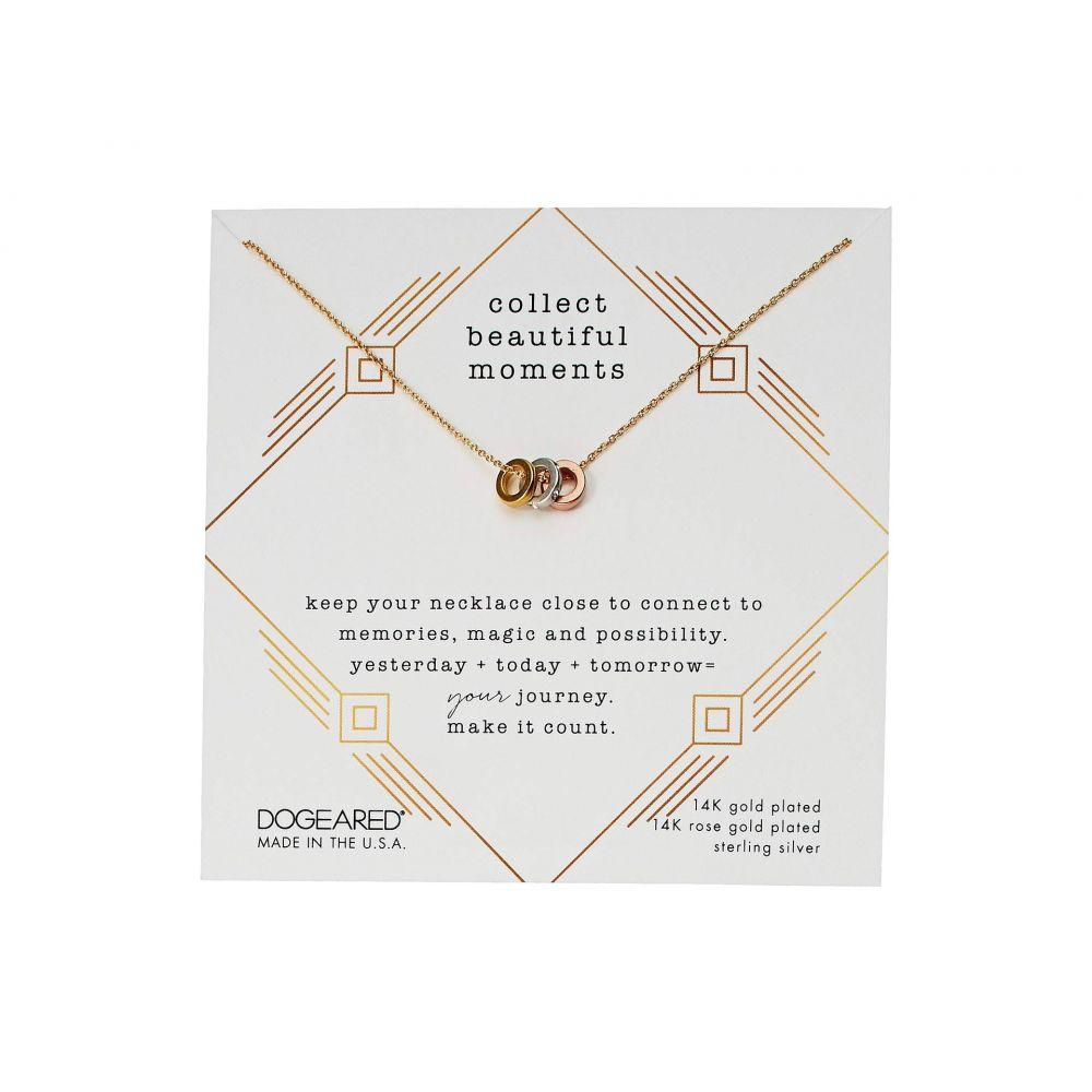 ドギャード Dogeared レディース ネックレス ジュエリー・アクセサリー【Collect Beautiful Moments, Trio Of Rondelle Beads Necklace】Mixed