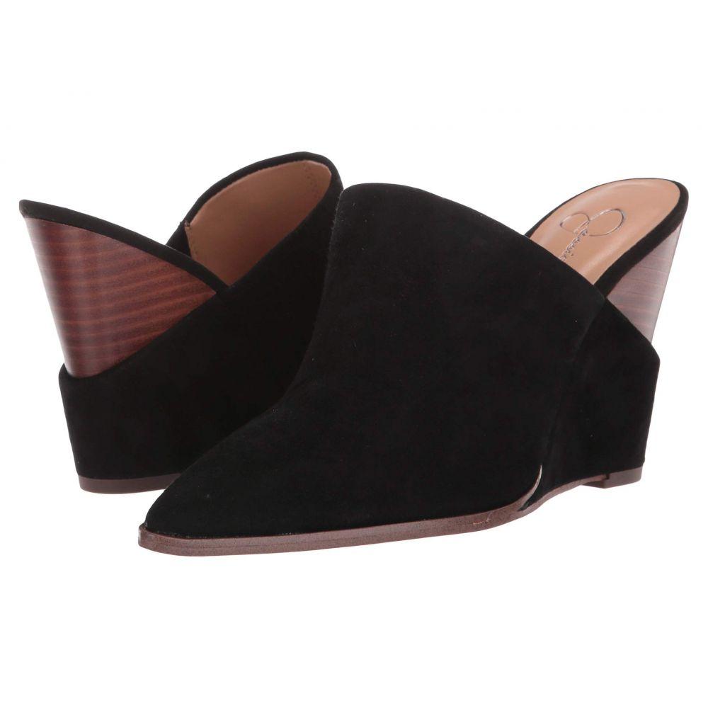 ジェシカシンプソン Jessica Simpson レディース ヒール シューズ・靴【Heilo】Black Lux Suede