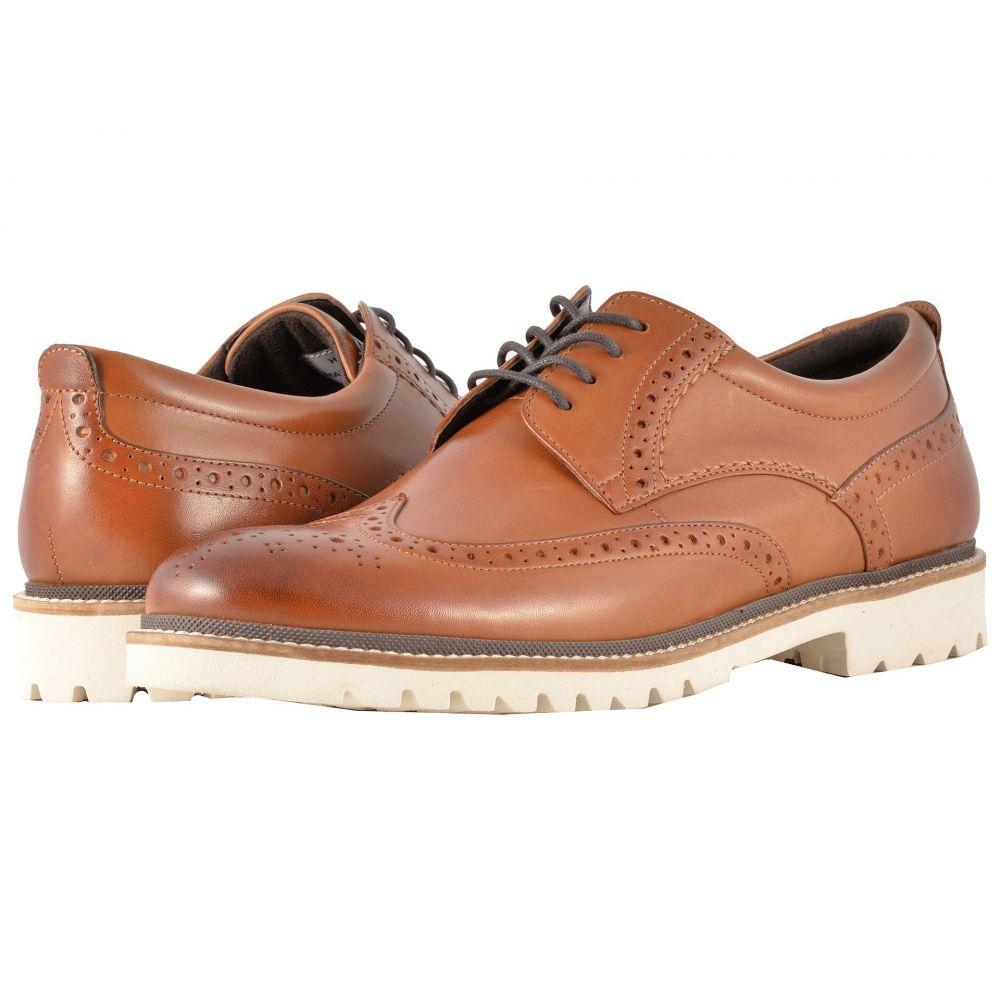 ロックポート Rockport メンズ 革靴・ビジネスシューズ ウイングチップ シューズ・靴【Marshall Wingtip】Cognac Leather