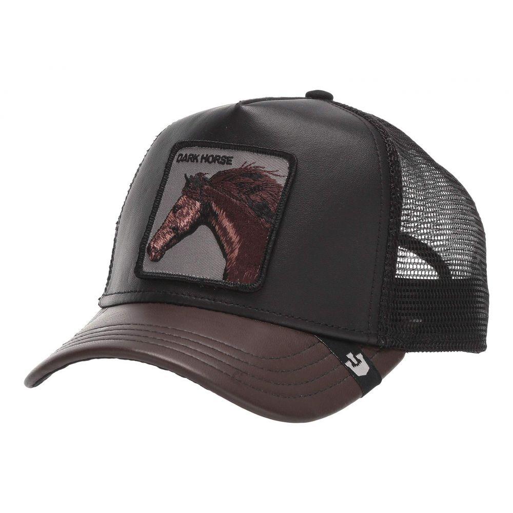 グーリンブラザーズ Goorin Brothers レディース キャップ トラッカーハット スナップバック 帽子【Animal Farm Snap Back Trucker Hat】Black Your Majesty