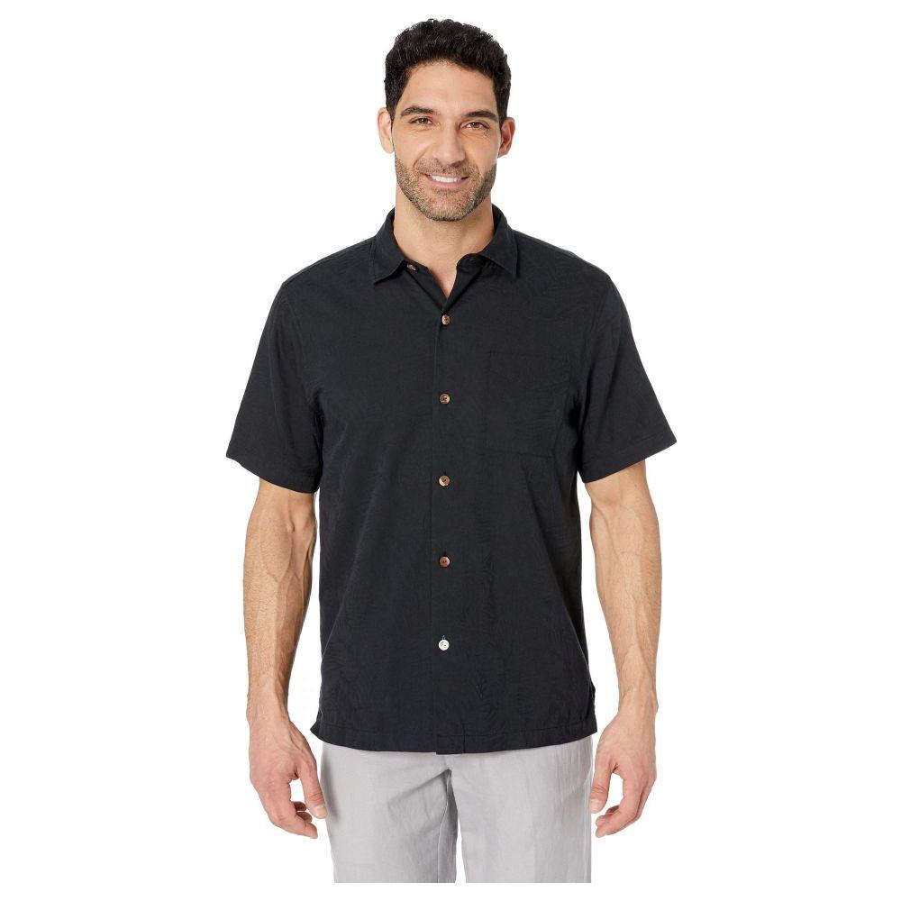 トミー バハマ Tommy Bahama メンズ シャツ トップス【Camden Coast Shirt】Black