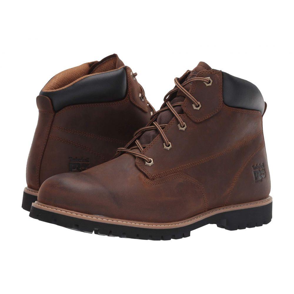ティンバーランド Timberland PRO メンズ ブーツ シューズ・靴【Gritstone 6' Soft Toe】Brown Leather