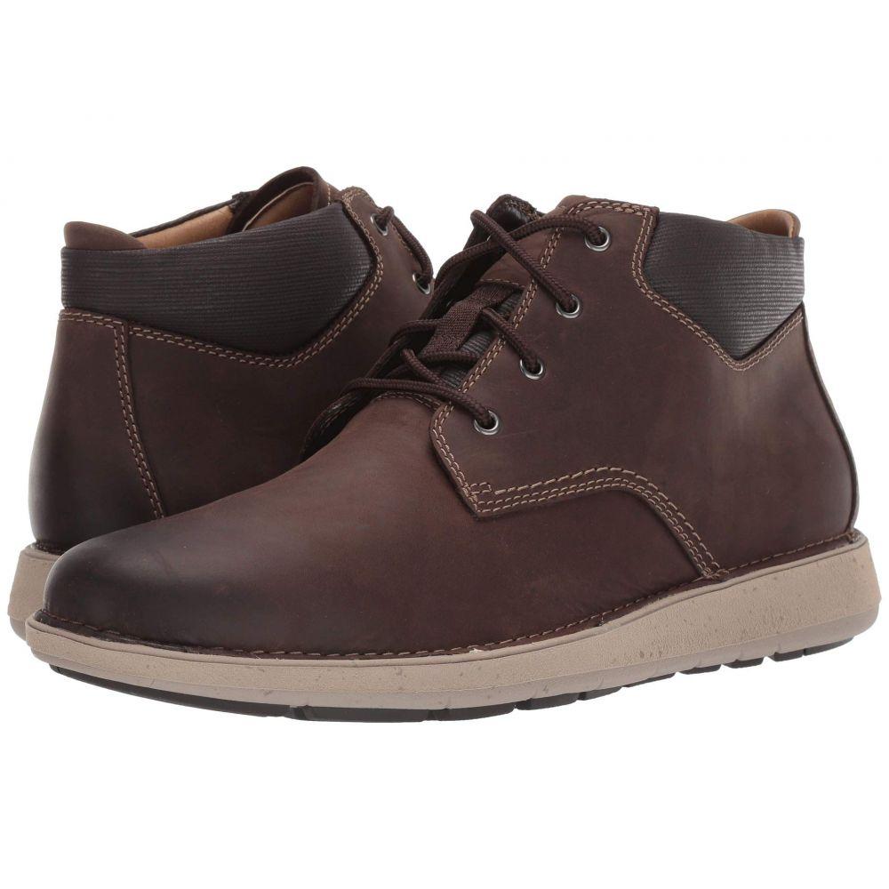 クラークス Clarks メンズ ブーツ シューズ・靴【Un Larvik Top】Brown Oily Leather