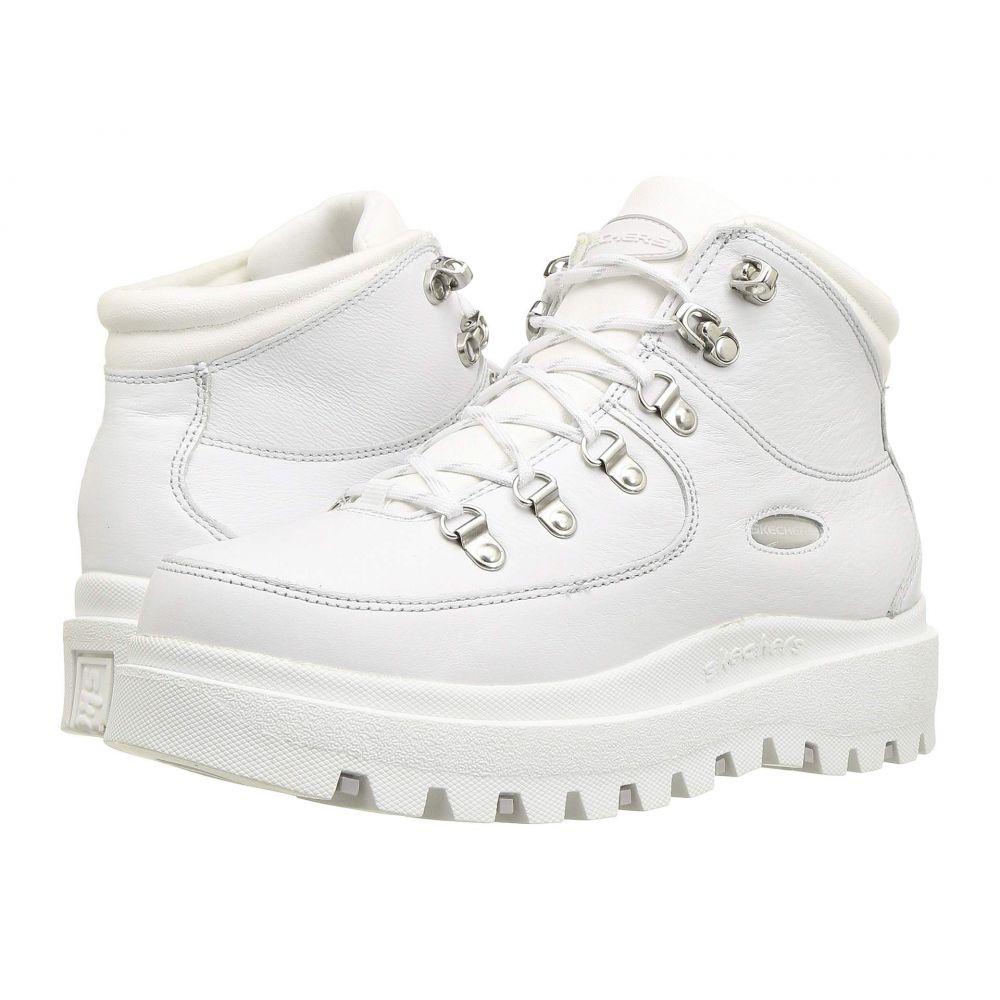 スケッチャーズ SKECHERS レディース ブーツ シューズ・靴【Shindigs】White