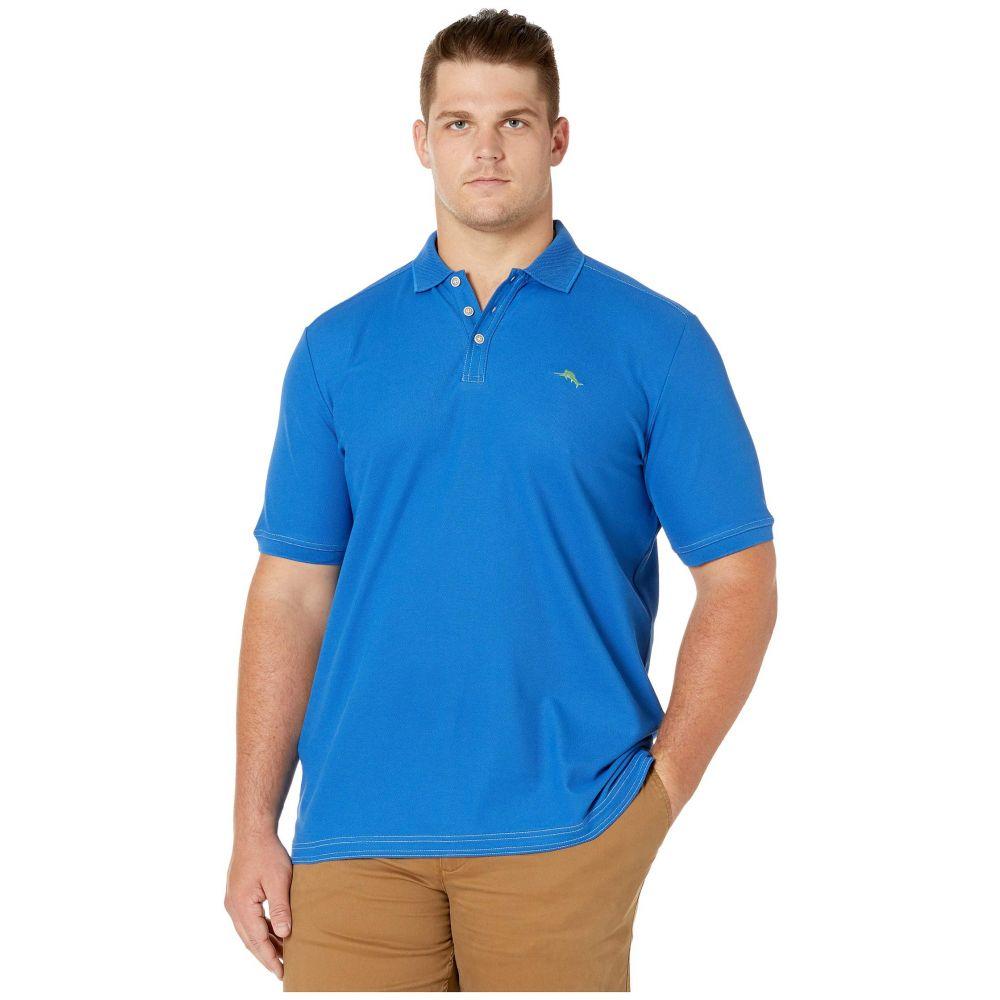トミー バハマ Tommy Bahama Big & Tall メンズ ポロシャツ 大きいサイズ トップス【Big & Tall Emfielder 2.0 Polo】Cobalt Sea