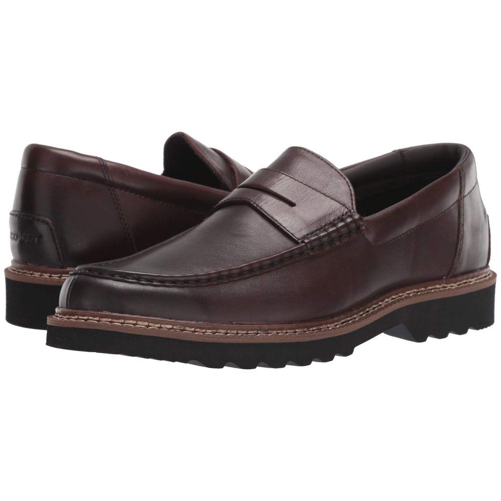 ロックポート Rockport メンズ ローファー シューズ・靴【Peirson Penny Keeper】Dark Bitter Chocolate Leather