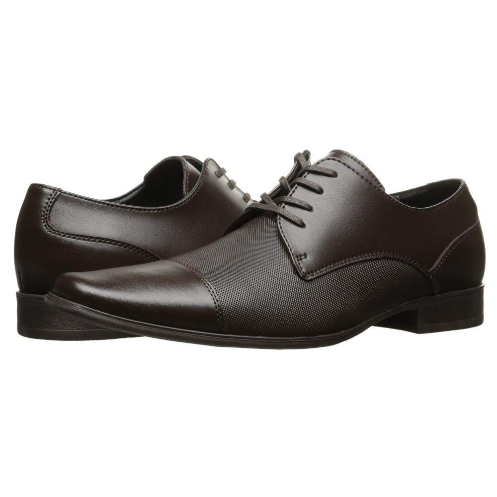 カルバンクライン Calvin Klein メンズ 革靴・ビジネスシューズ シューズ・靴【Bram】Dark Brown