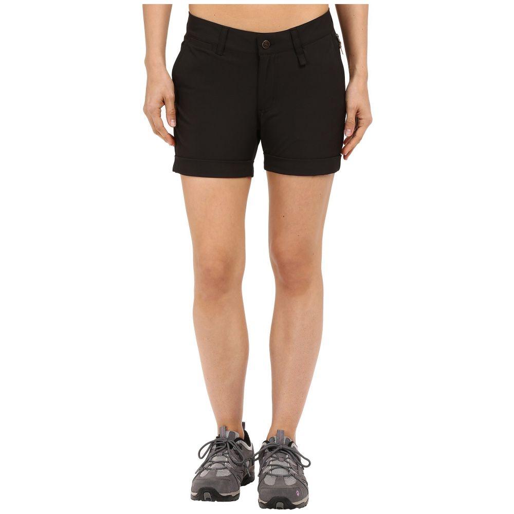 フェールラーベン Fjallraven レディース ショートパンツ ボトムス・パンツ【Abisko Stretch Shorts】Black