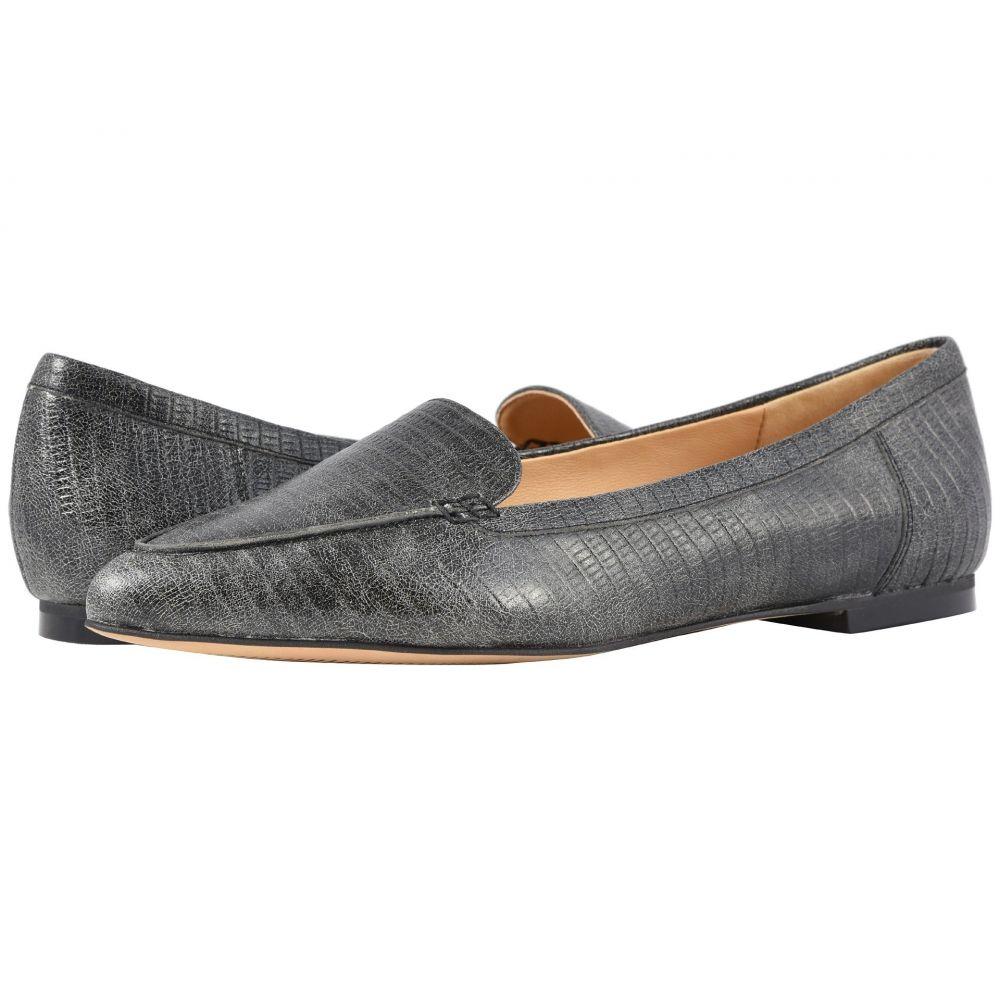 トロッターズ Trotters レディース スリッポン・フラット シューズ・靴【Ember】Faded Black Lizard Stamped Leather