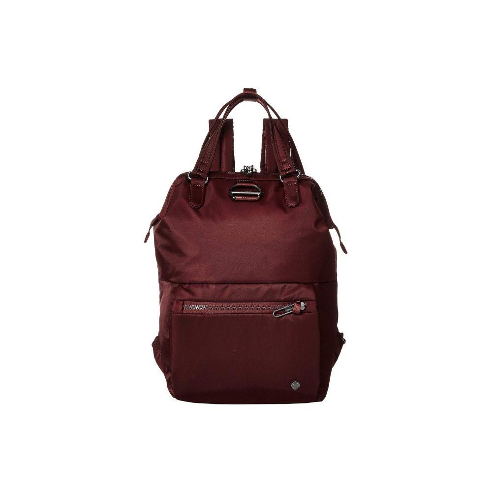 パックセイフ Pacsafe レディース バックパック・リュック バッグ【Citysafe CX Anti-Theft Mini Backpack】Merlot