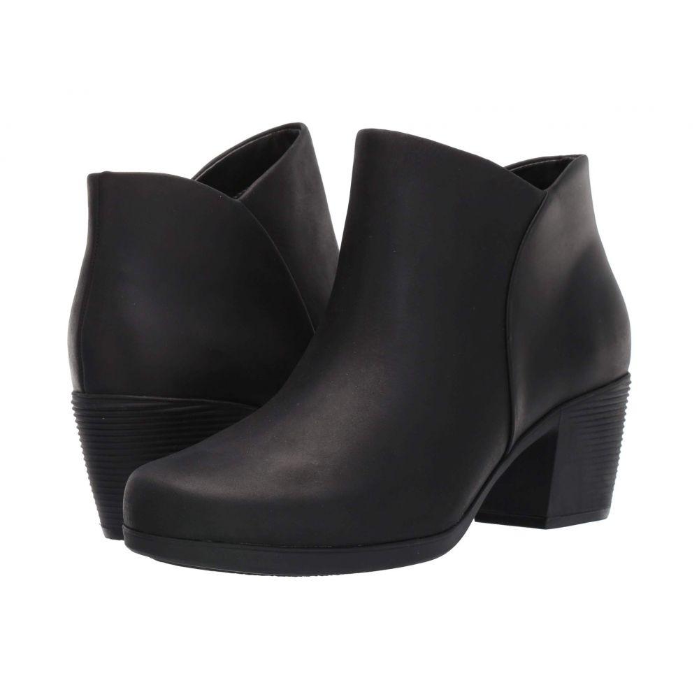 クラークス Clarks レディース ブーツ シューズ・靴【Un Lindel Zip】Black Oily Leather