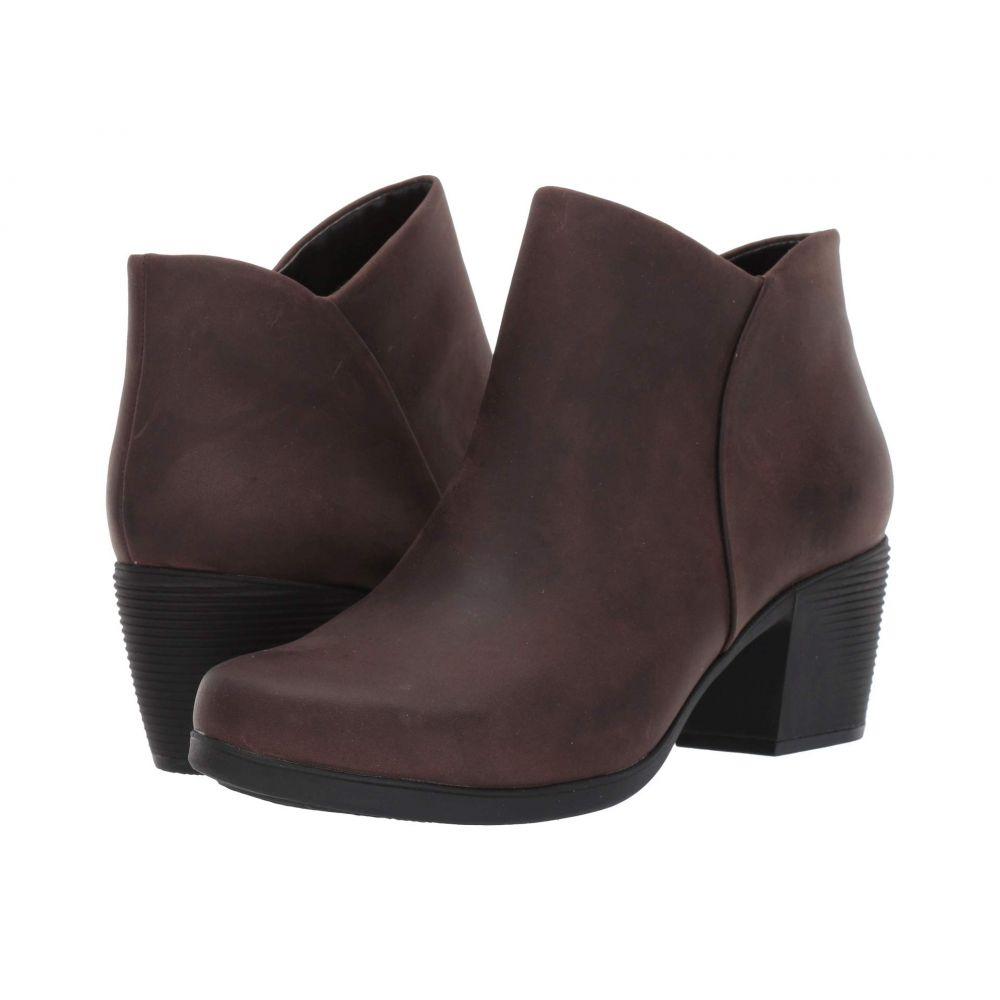 クラークス Clarks レディース ブーツ シューズ・靴【Un Lindel Zip】Brown Oily Leather