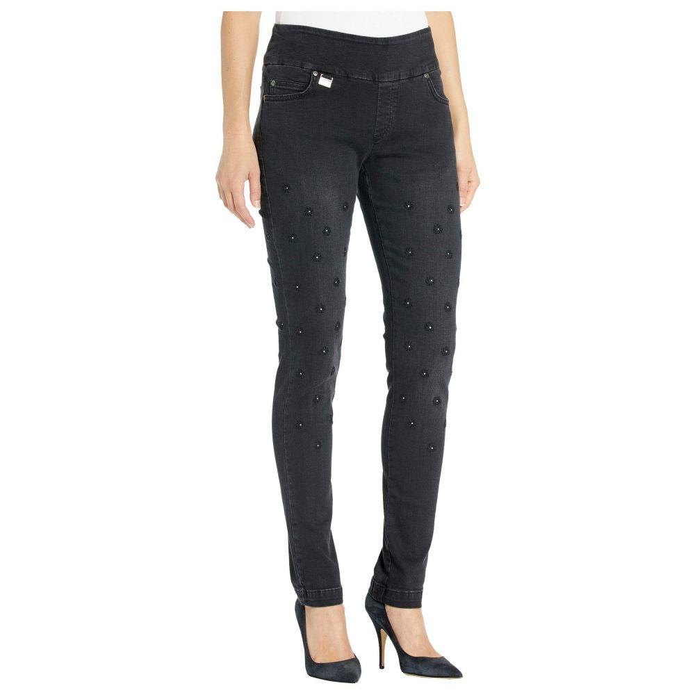 リゼッタ Lisette L Montreal レディース ジーンズ・デニム ボトムス・パンツ【Betty Slim Jeans w/ Flower Embroidery】Black