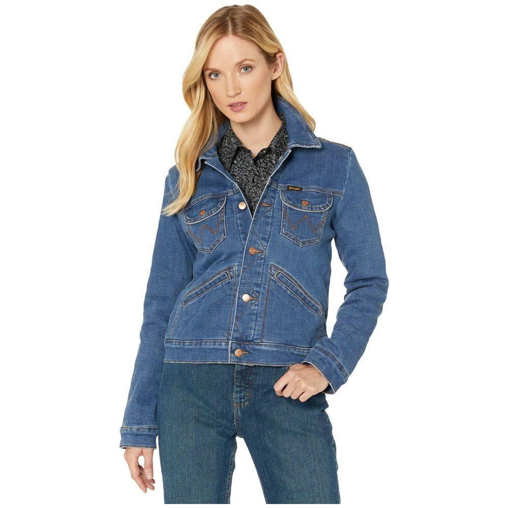 ラングラー Wrangler レディース ジャケット アウター【Aztec Blanket Lined Jacket】Lacey