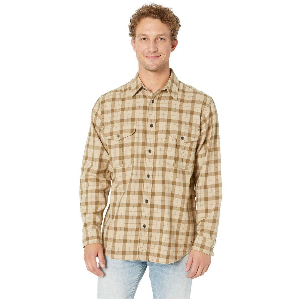フィルソン Filson メンズ シャツ トップス【Lightweight Alaskan Guide Shirt】Khaki/Brown Plaid