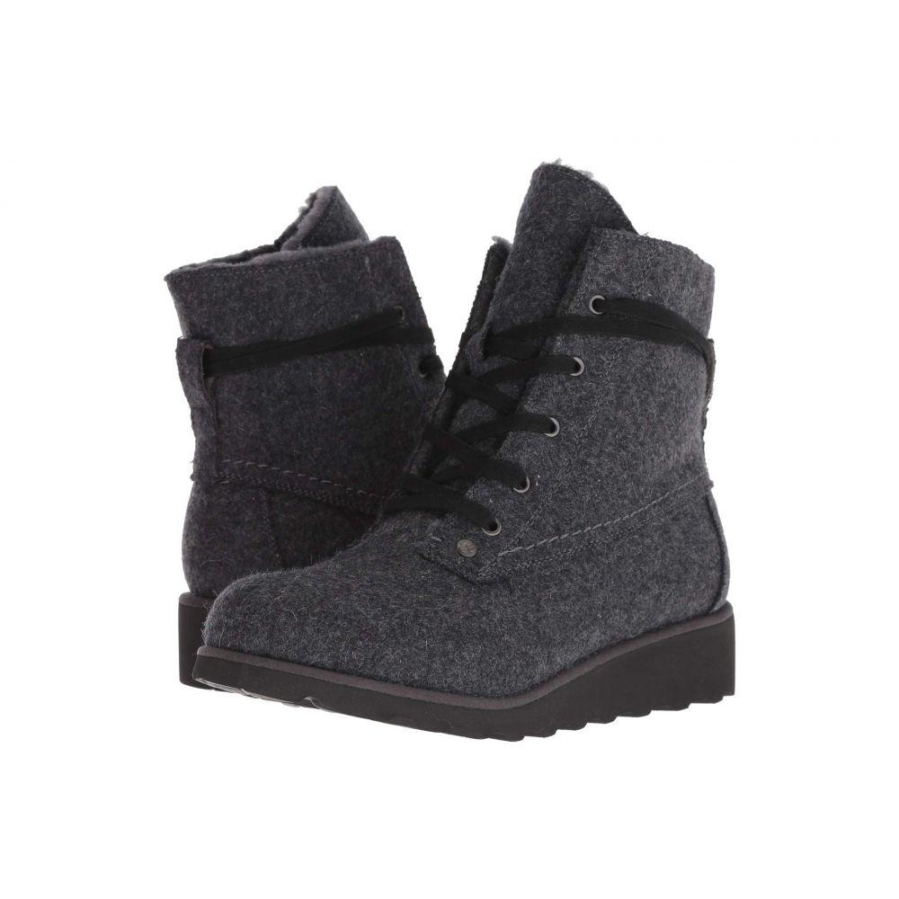 ベアパウ Bearpaw レディース ブーツ シューズ・靴【Krista】Gray Wool