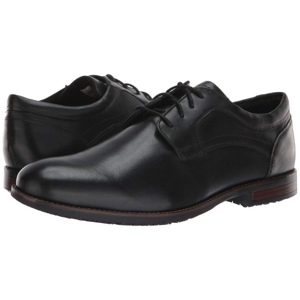 ロックポート Rockport メンズ 革靴・ビジネスシューズ シューズ・靴【Dustyn Waterproof Plain Toe】Black