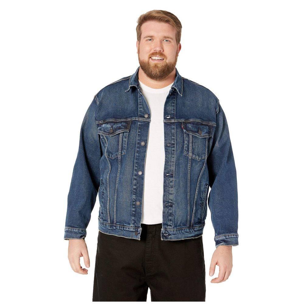 リーバイス Levi's Big & Tall メンズ ジャケット 大きいサイズ アウター【Big & Tall Trucker Jacket】Colusa Stretch