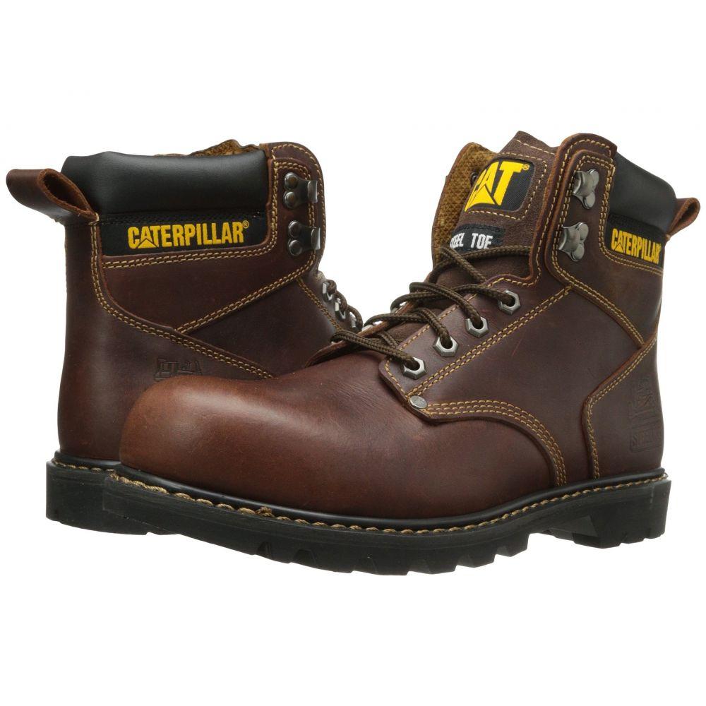 キャピタラー カジュアル Caterpillar メンズ ブーツ シューズ・靴【2nd Shift Steel Toe】Tan