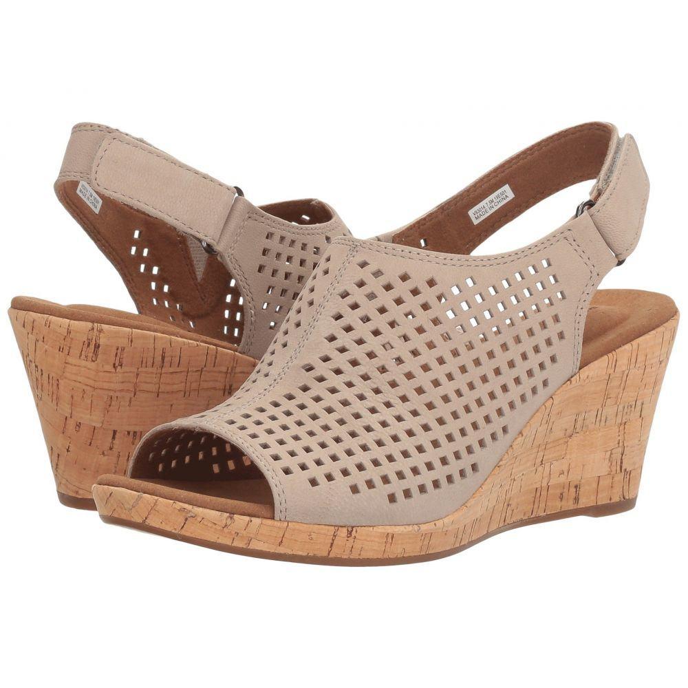 ロックポート Rockport レディース ヒール シューズ・靴【Briah Perf Sling】Taupe Leather