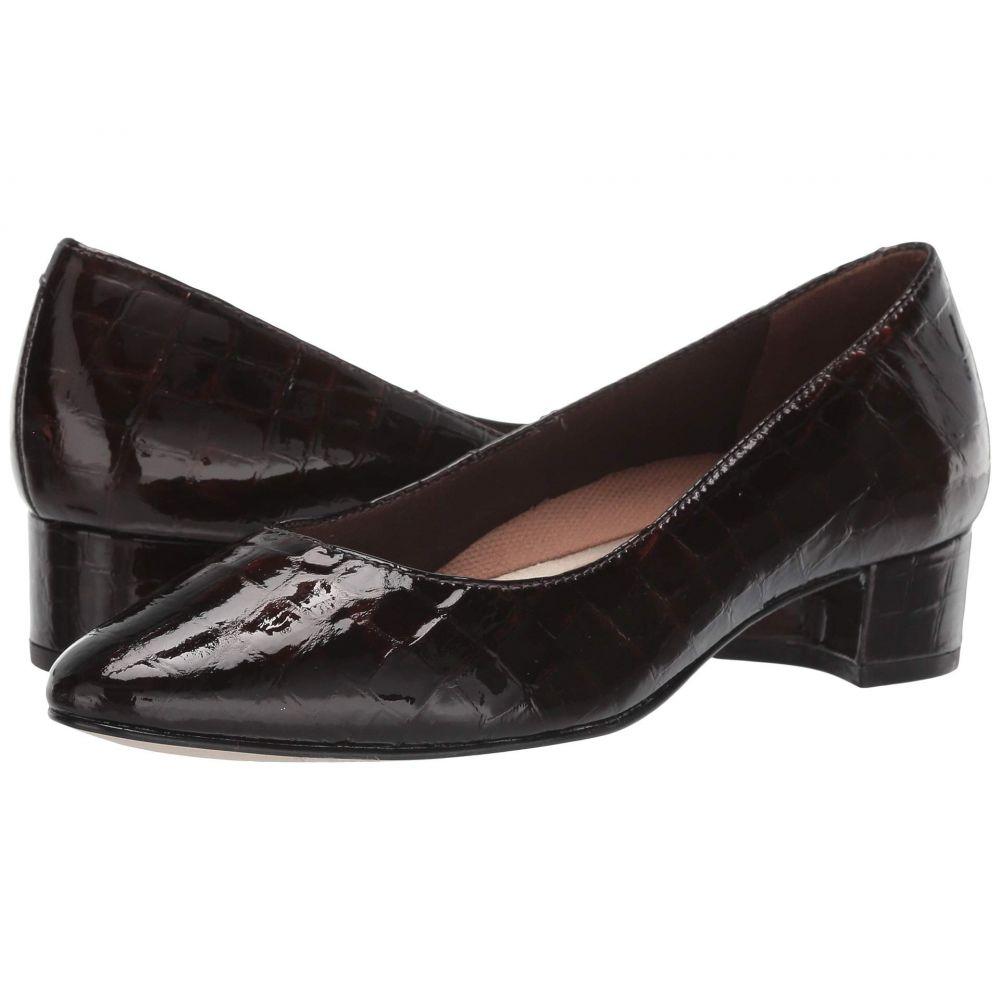 ウォーキング クレードル Walking Cradles レディース ヒール シューズ・靴【Heidi】Brown Small Patent Gator