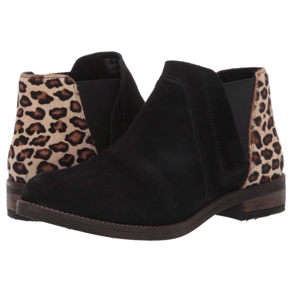 クラークス Clarks レディース ブーツ シューズ・靴【Demi Beat】Black/Leopard Print