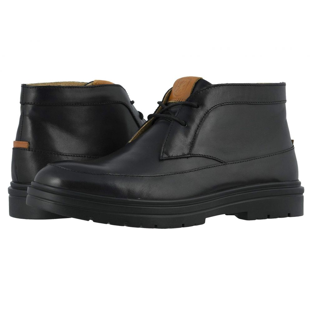 ステイシー アダムス Stacy Adams メンズ ブーツ モックトゥ チャッカブーツ シューズ・靴【Alcander Moc Toe Chukka Boot】Black