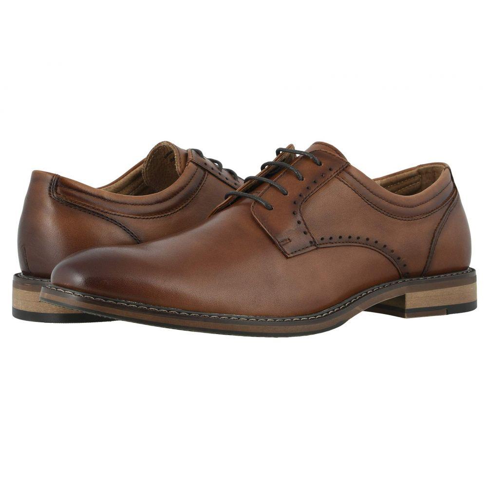 ステイシー アダムス Stacy Adams メンズ 革靴・ビジネスシューズ シューズ・靴【Faulkner Plain Toe Oxford】Cognac