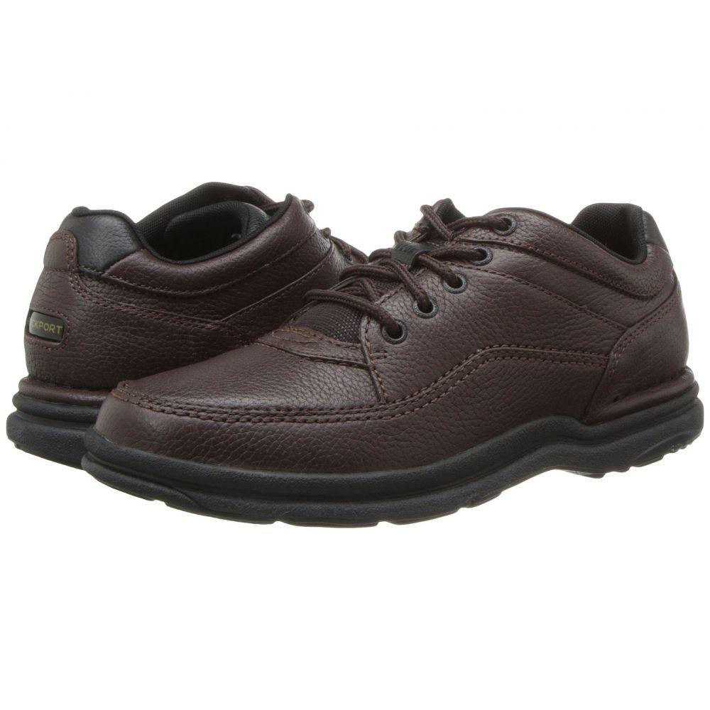 ロックポート Rockport メンズ 革靴・ビジネスシューズ シューズ・靴【World Tour Classic】Brown Tumbled Leather