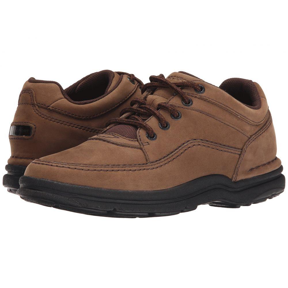 ロックポート Rockport メンズ 革靴・ビジネスシューズ シューズ・靴【World Tour Classic】Chocolate Nubuck