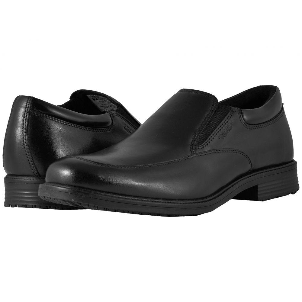 ロックポート Rockport メンズ スリッポン・フラット シューズ・靴【Essential Details Waterproof Slip On】Black