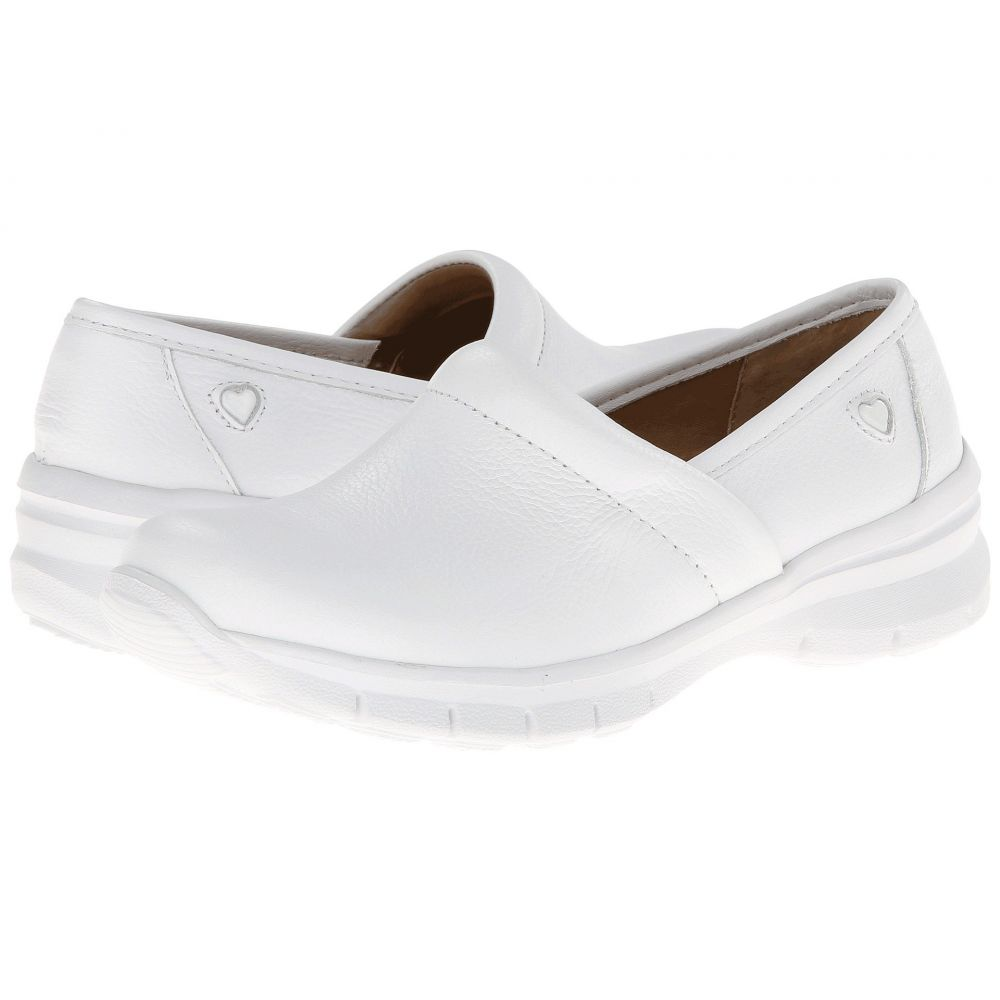 ナースメイト Nurse Mates レディース サンダル・ミュール シューズ・靴【Libby】White
