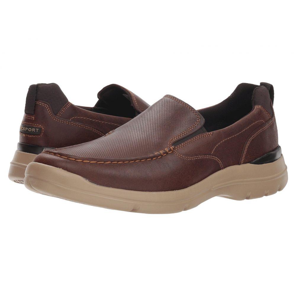 ロックポート Rockport メンズ スリッポン・フラット シューズ・靴【City Edge Slip-On】Boston Tan Leather