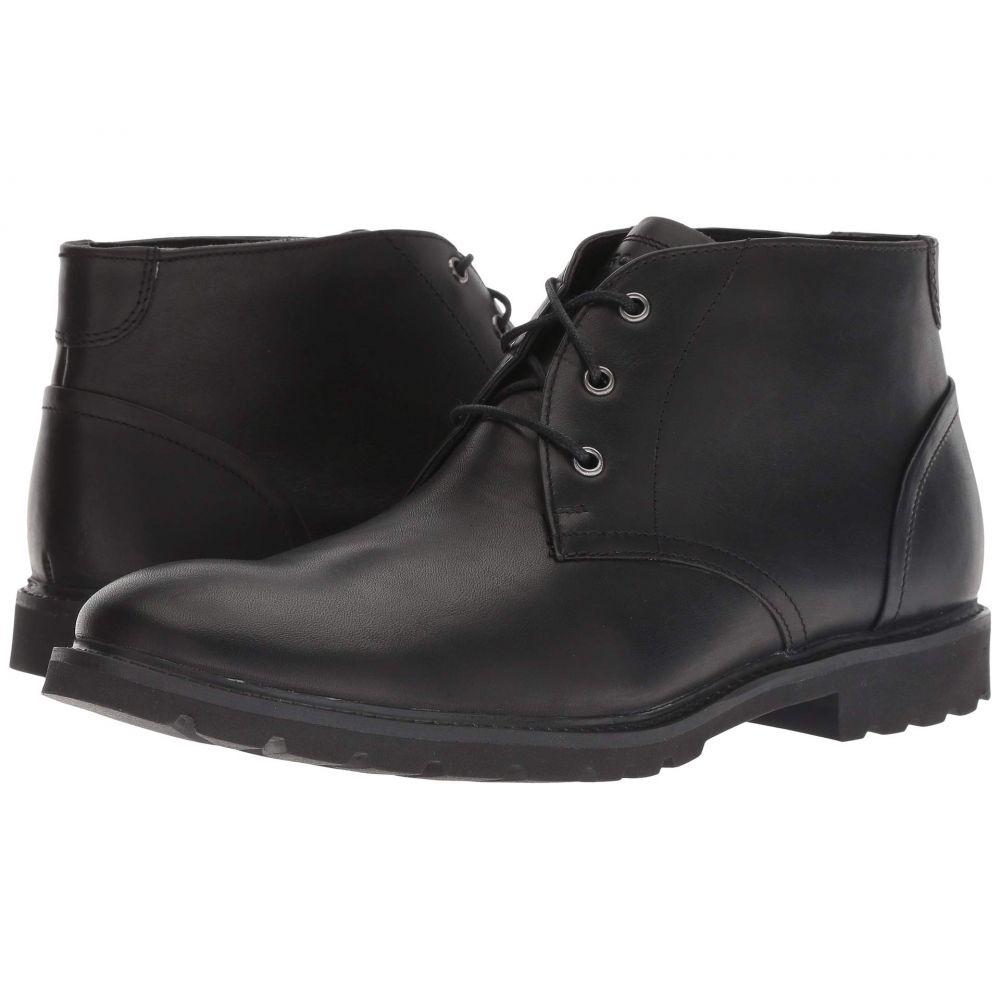 ロックポート Rockport メンズ ブーツ チャッカブーツ シューズ・靴【Sharp and Ready Chukka】Black