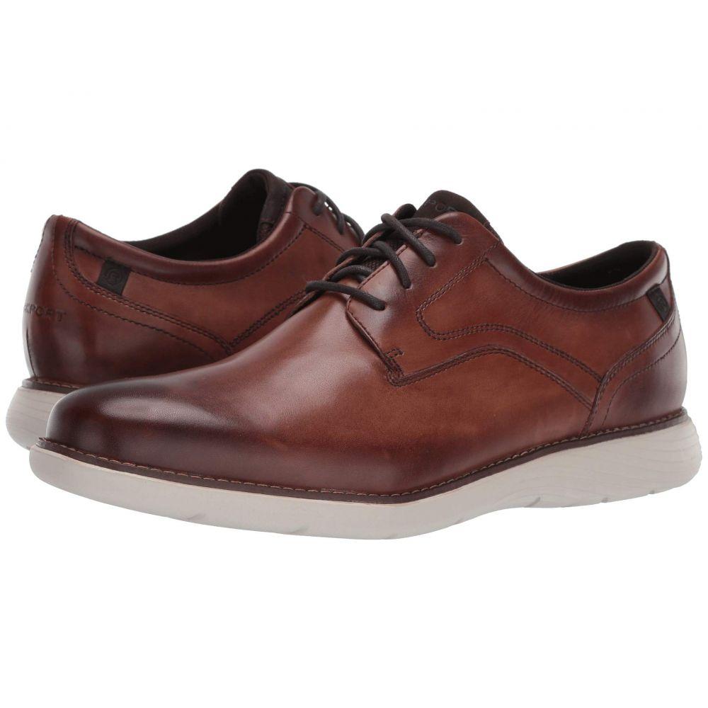 ロックポート Rockport メンズ 革靴・ビジネスシューズ シューズ・靴【Garett Plain Toe】Cognac