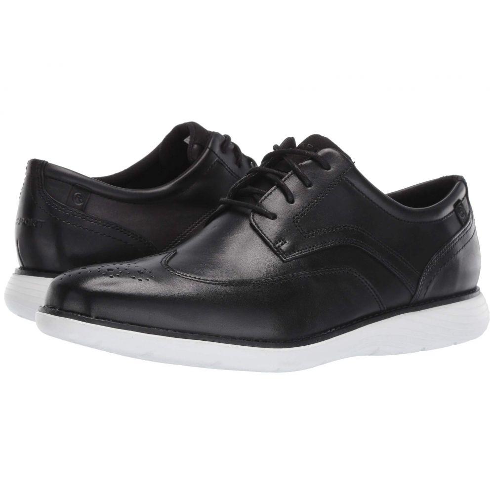 ロックポート Rockport メンズ 革靴・ビジネスシューズ ウイングチップ シューズ・靴【Garett Wing Tip】Black/White