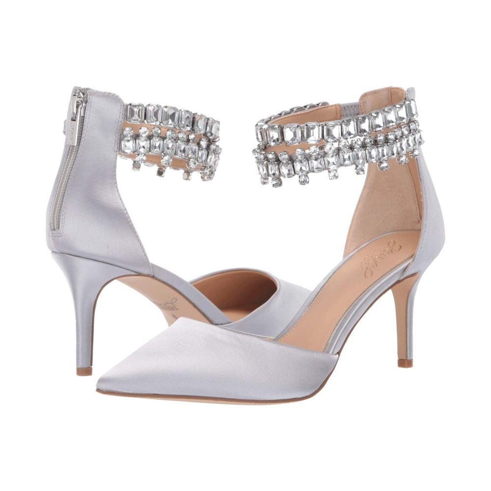 バッジェリー ミシュカ Jewel Badgley Mischka レディース ヒール シューズ・靴【Damonica】Silver