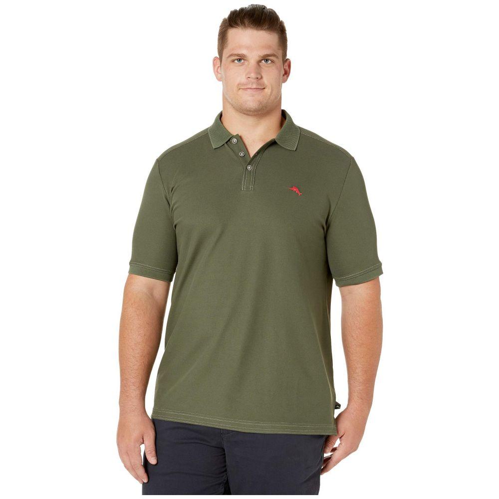 トミー バハマ Tommy Bahama Big & Tall メンズ ポロシャツ 大きいサイズ トップス【Big & Tall Emfielder 2.0 Polo】Palm Moss