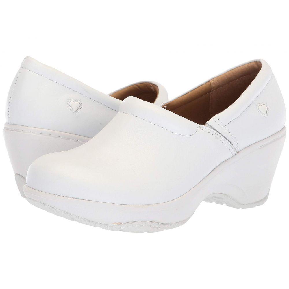 ナースメイト Nurse Mates レディース サンダル・ミュール シューズ・靴【Bryar】White