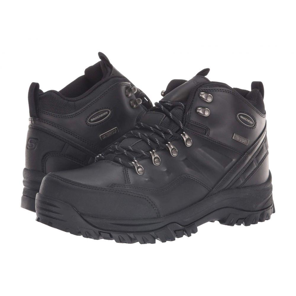 スケッチャーズ SKECHERS メンズ ハイキング・登山 シューズ・靴【Relaxed Fit Resment Traven】Black/Black