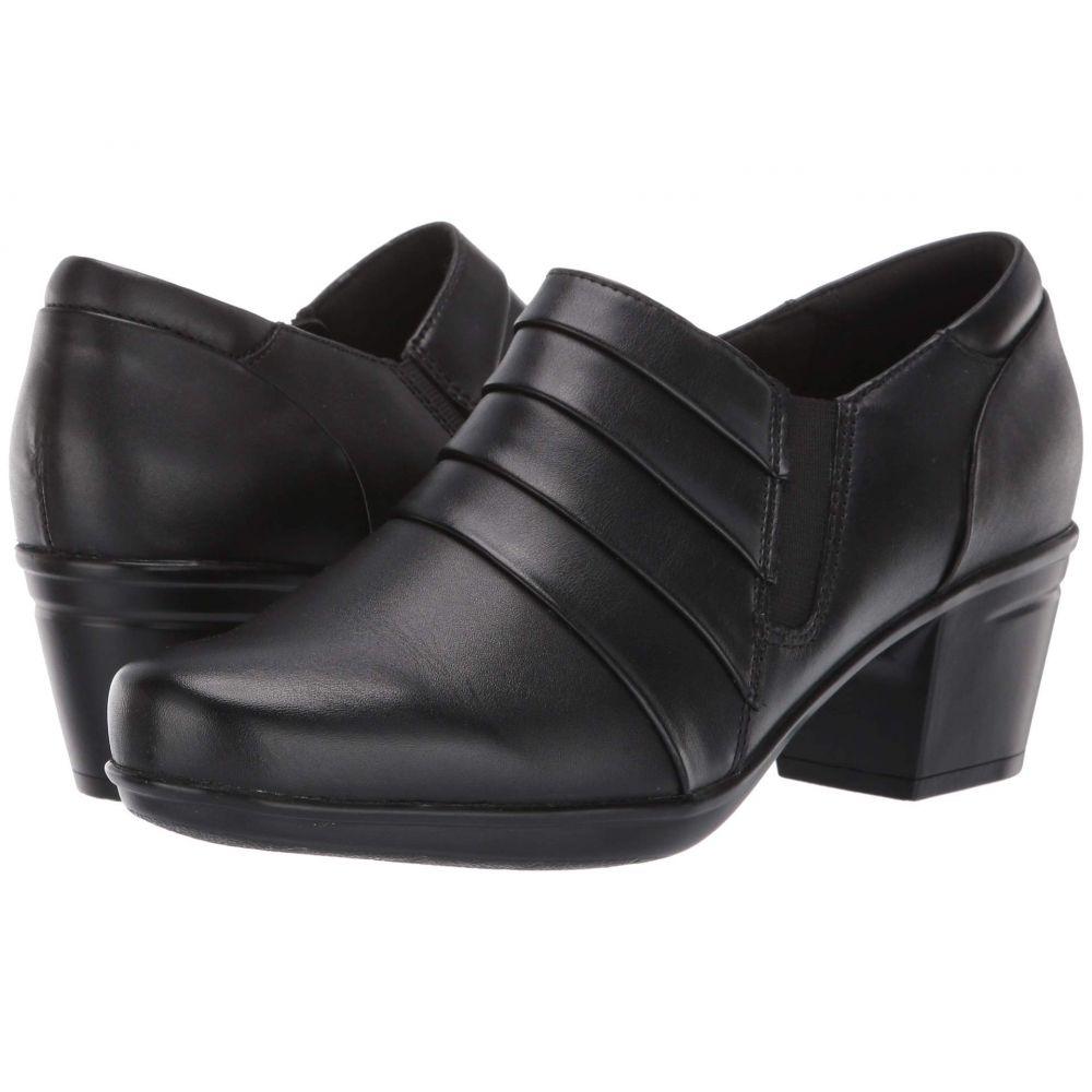 クラークス Clarks レディース ブーツ シューズ・靴【Emslie Guide】Black Leather