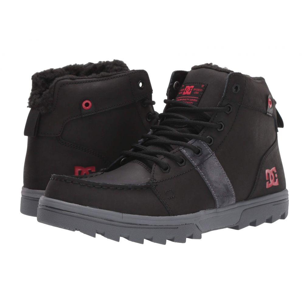 ディーシー DC メンズ ブーツ シューズ・靴【Woodland】Black/Battleship/Athletic Red