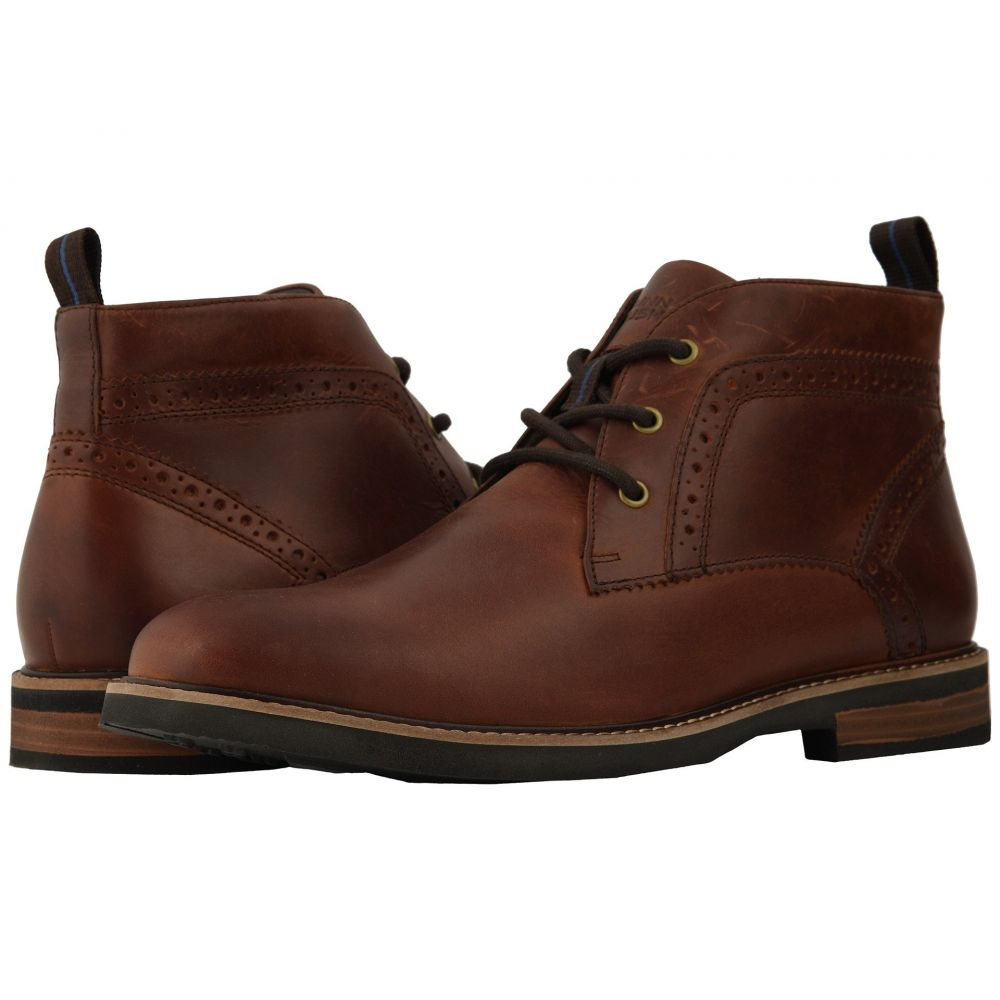 ナンブッシュ Nunn Bush メンズ ブーツ チャッカブーツ シューズ・靴【Ozark Plain Toe Chukka Boot with KORE Walking Comfort Technology】Rust
